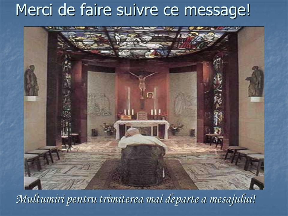 - Jean Paul II - 3 ème anniversaire de son retour à Dieu - Ioan Paul II - A treia aniversare a intoarcerii sale la Dumnezeu