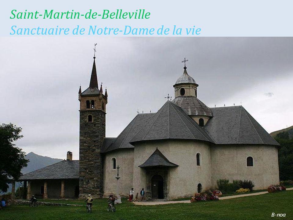 Notre-Dame-du-Pré la commune en hiver