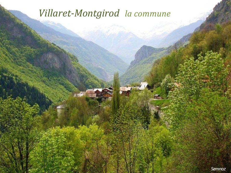 Montgirod le village