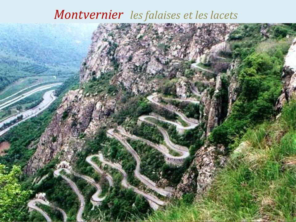 Montvernier village composé de 3 hameaux