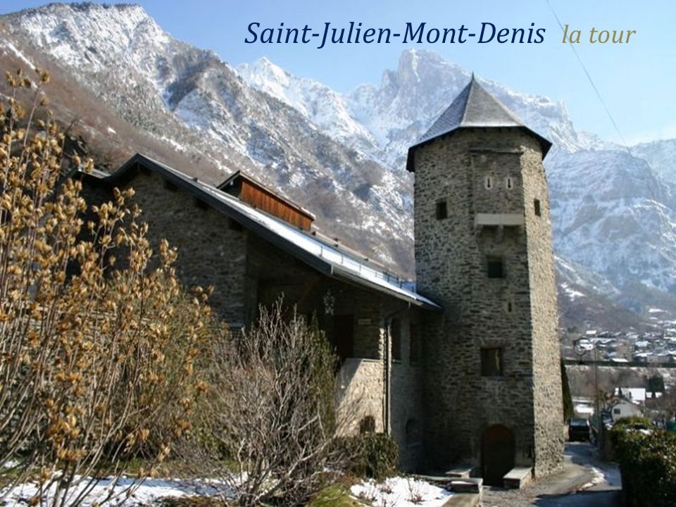 Saint-Julien-Mont-Denis le village