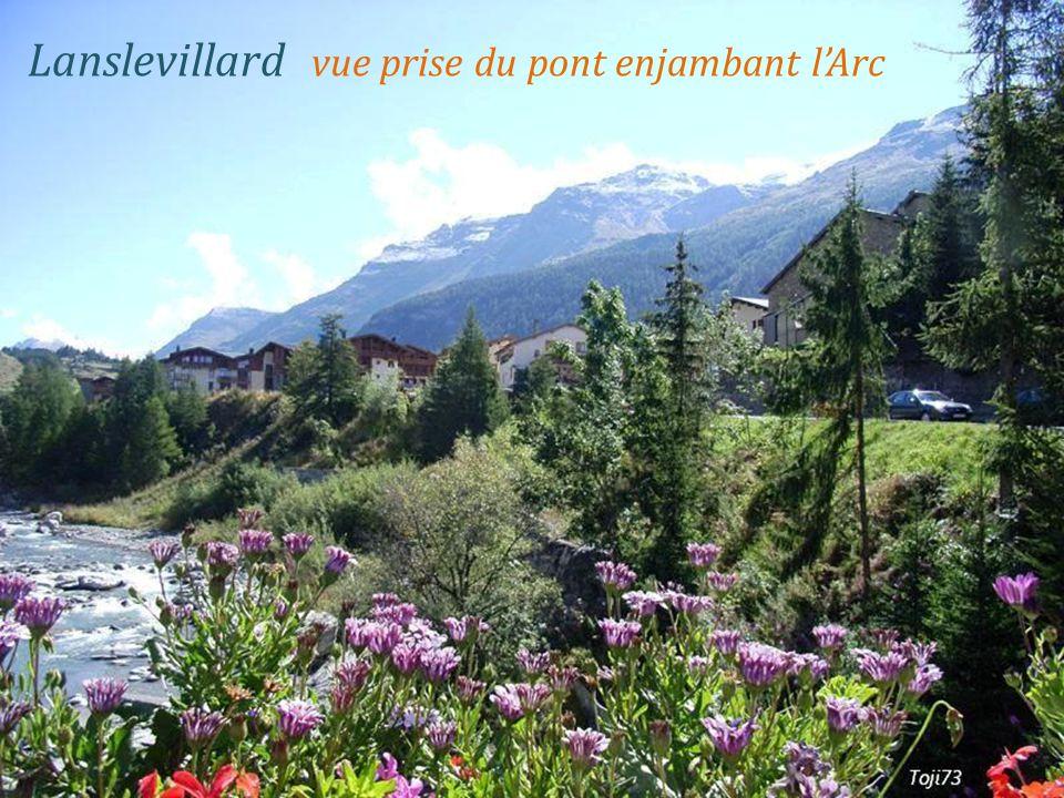 Bramans la Dent Parrachée 3687 mètres. vallée de La Maurienne