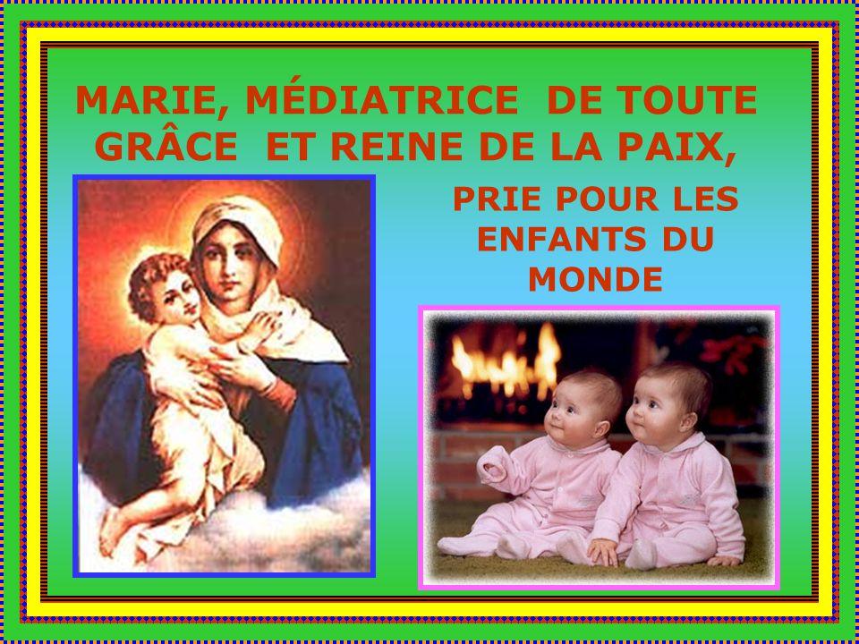 Mère de la lumière, Mère de la vie, Mère de lamour, prie pour moi.