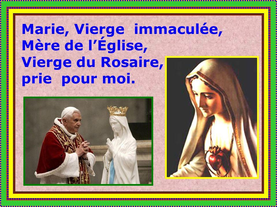MARIE, MÉDIATRICE DE TOUTE GRÂCE ET REINE DE LA PAIX, PRIE POUR LES ENFANTS DU MONDE