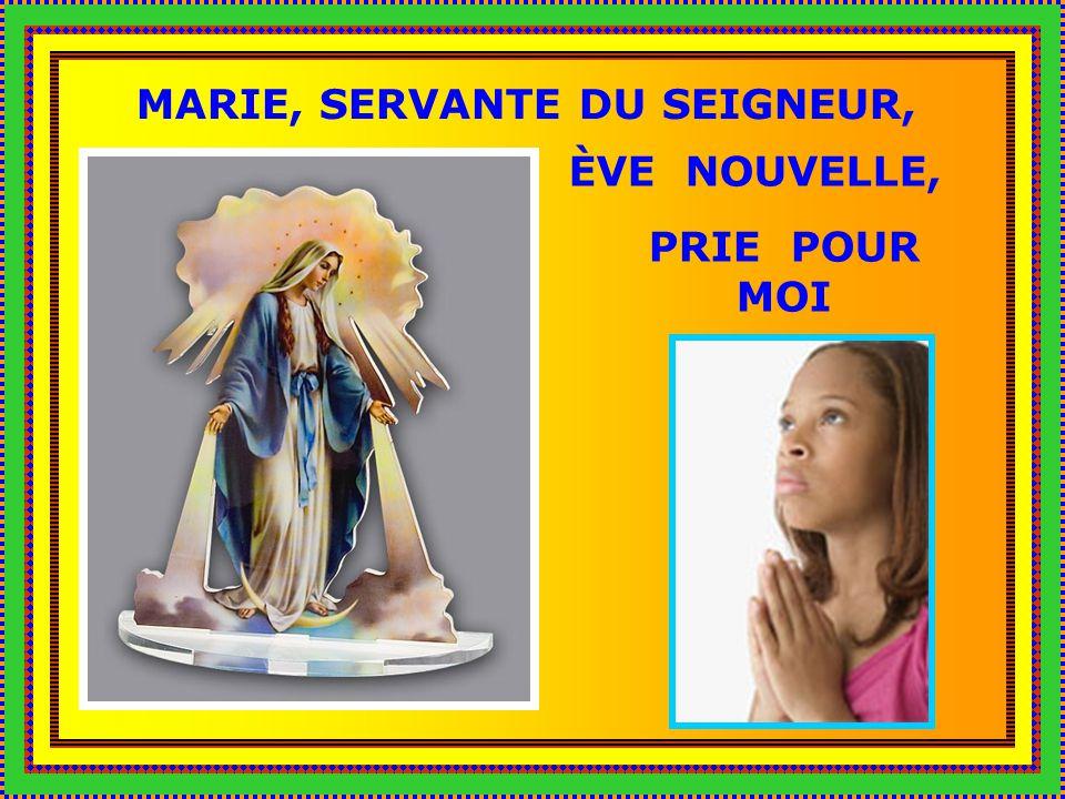 Marie, Vierge immaculée, Mère de lÉglise, Vierge du Rosaire, prie pour moi.