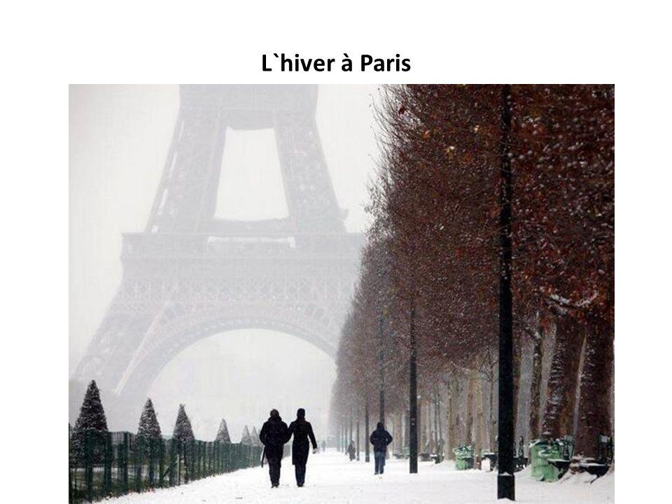 L`hiver à Paris