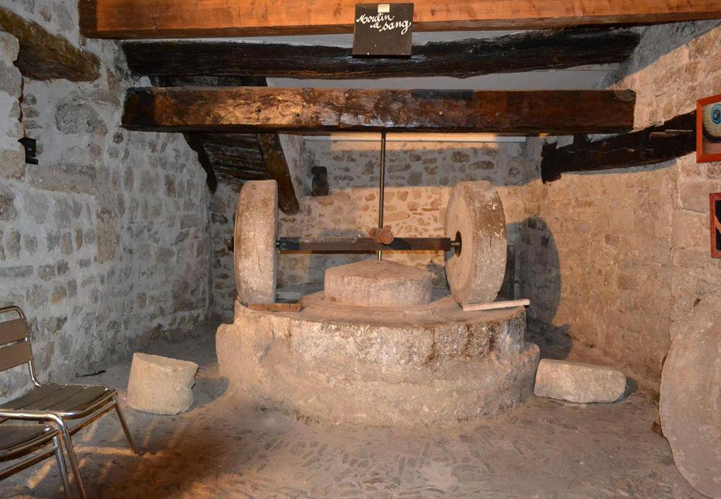 Moulin à huile du XV ème siècle
