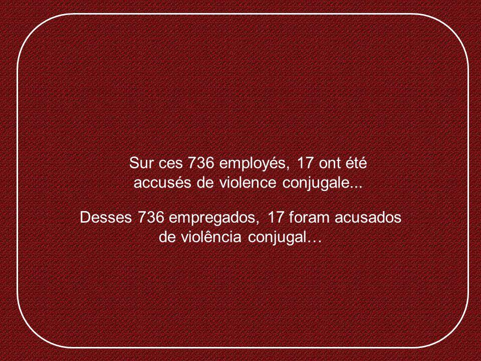 Pourriez-vous vous imaginer un instant dêtre membre dune entreprise comptant 736 employés et qui, en 2010, répondait aux statistiques suivantes? Conse