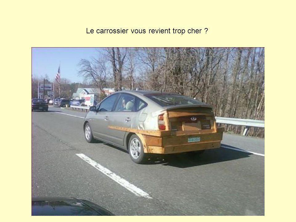 Le carrossier vous revient trop cher ?
