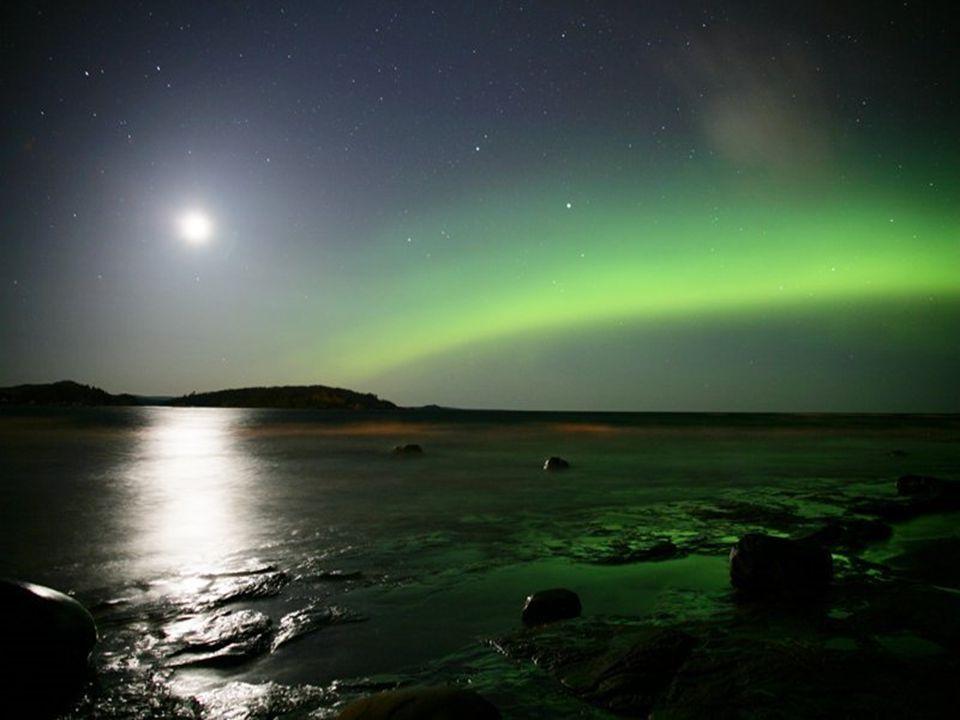 On peut en observer au Groenland, en Laponie, au nord du Canada, en Alaska