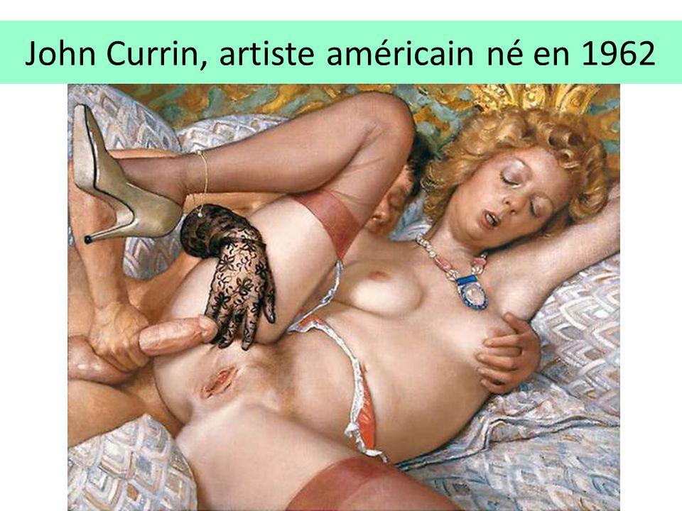John Currin, artiste américain né en 1962
