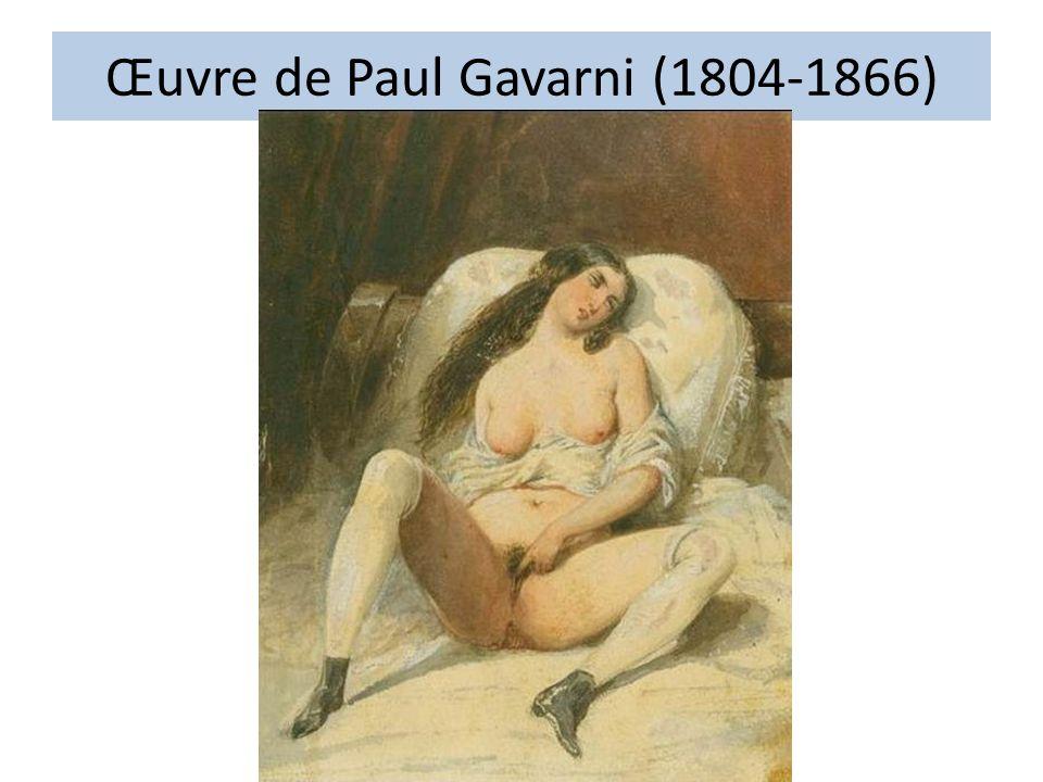 Œuvre de Paul Gavarni (1804-1866)