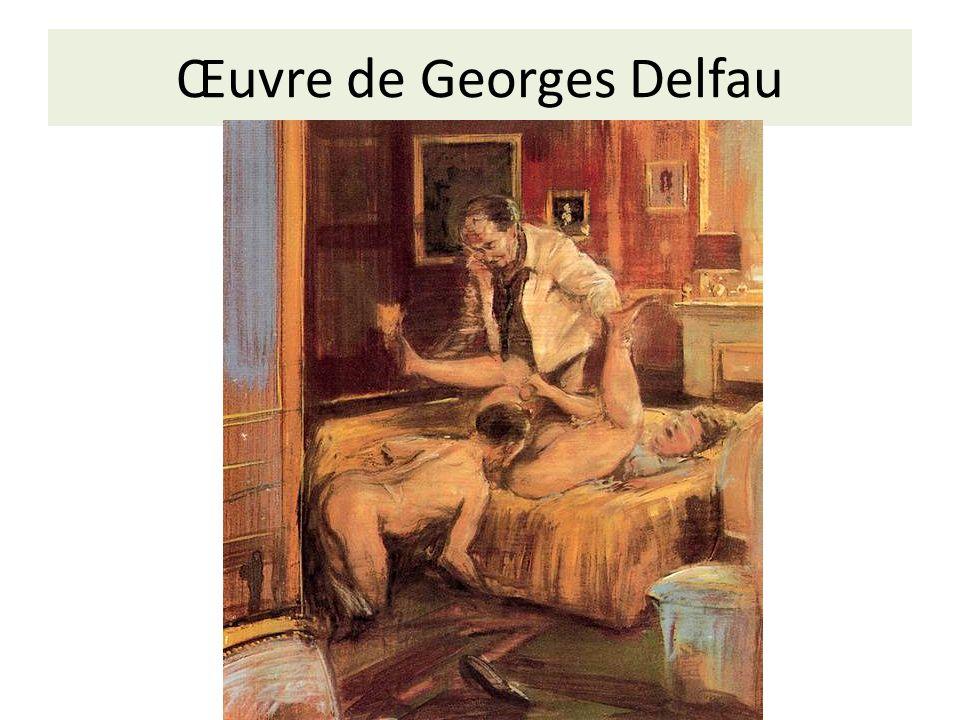 Œuvre de Georges Delfau