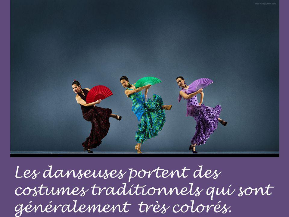 La danse est très expressive.