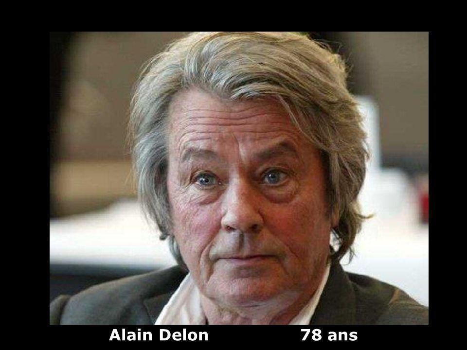 Alain Delon 78 ans