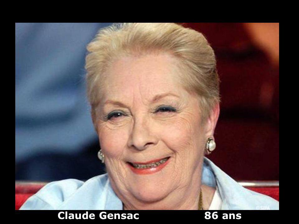 Claude Gensac 86 ans
