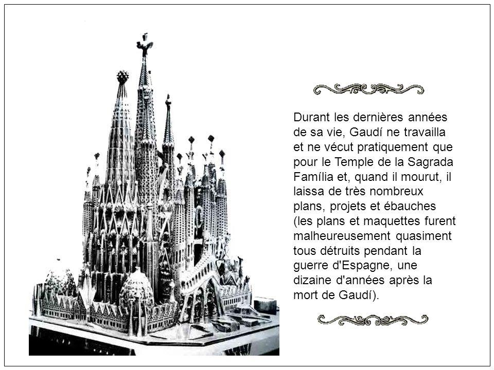 Dangereux tracé du tunnel du TGV pour La Sagrada Familia de Gaudi: Le comité espagnol des monuments historiques recommande que le TGV ne passe pas prè