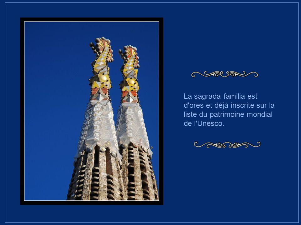 En outre, l'informatique va permettre de mieux interpréter les grandes maquettes élaborées par Gaudi, grâce à un logiciel industriel.