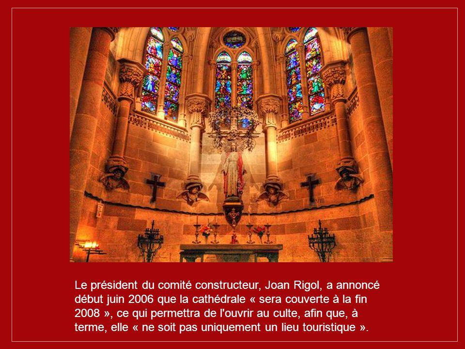 La sagrada familia est d'ores et déjà inscrite sur la liste du patrimoine mondial de l'Unesco.