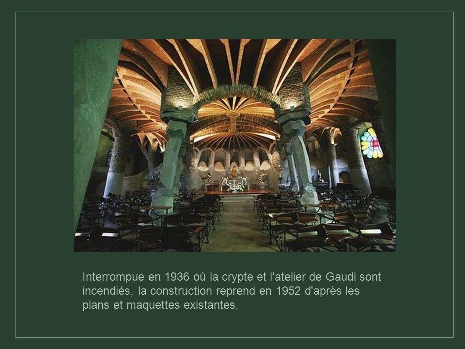 Anecdote: Salvador Dali considérait que « l on devrait confier l achèvement de la cathédrale aux chauffeurs de tramway à titre expiatoire », Gaudí ayant trouvé la mort renversé par un tramway.