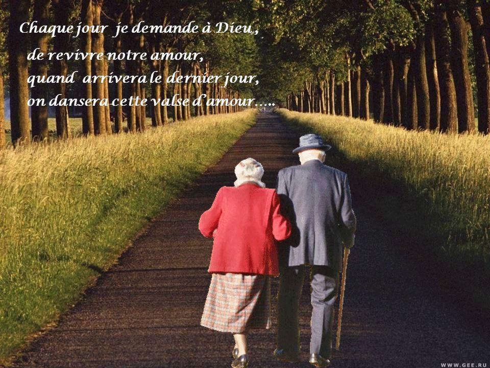 Tu sais on a bien vieilli, ton cœur réchauffant le mien…. ces années lun contre lautre, surtout je ne regrette rien,