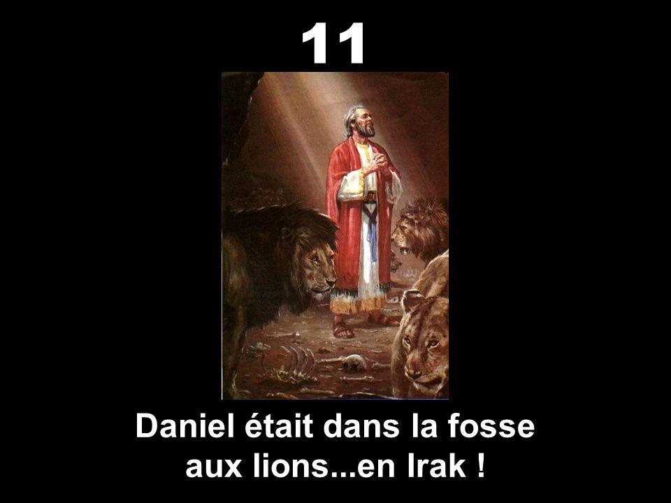 Babylone, d'Irak, a détruit Jérusalem. 10