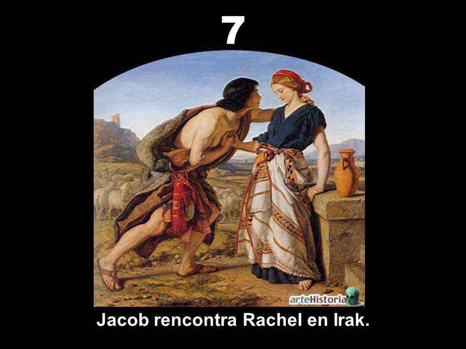 L'épouse d'Isaac, Rébecca est de Nahor, ville d'Irak. 6
