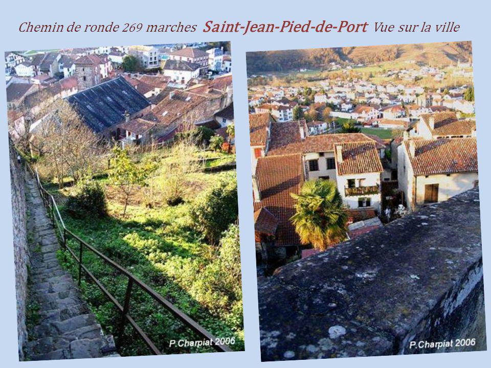 Saint-Jean-Pied-de-Port la citadelle