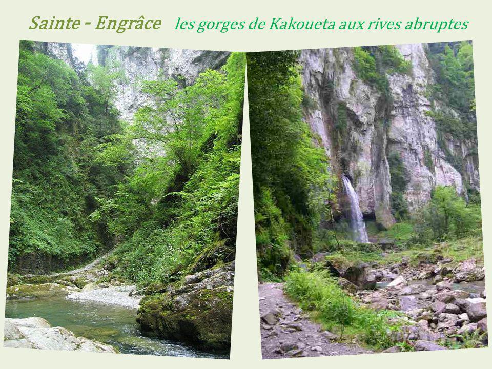 Sainte - Engrâce les gorges de Kakoueta