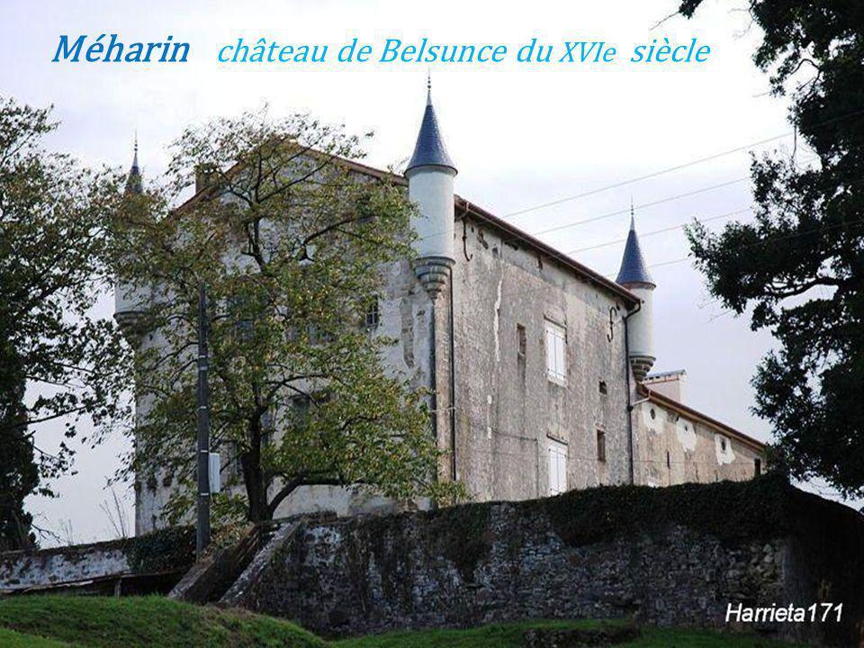 Bidache château du XIIe siècle