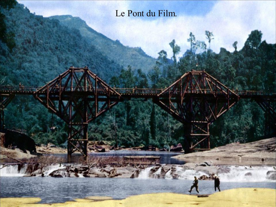 Kwai (Khwa Noi) - une rivière dans l ouest de la Thaïlande près de la frontière avec la Birmanie, se jette dans le golfe de la Thaïlande, dans ces années de la Seconde Guerre mondiale sur ce fleuve ont été construits deux ponts.