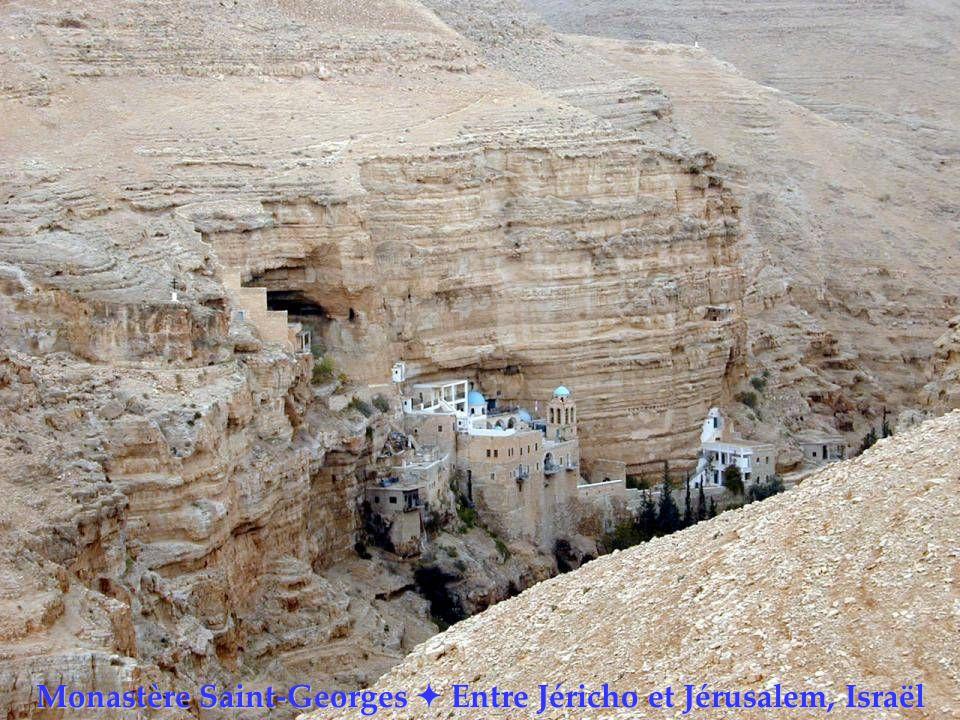 Monastère Saint-Georges Entre Jéricho et Jérusalem, Israël