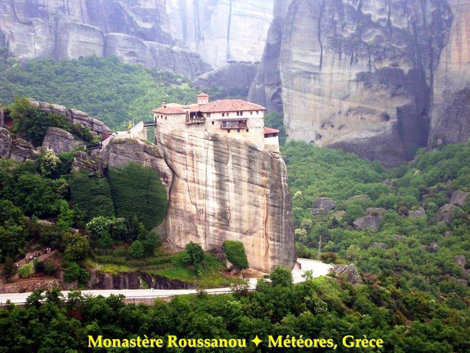 Monastère Roussanou Météores, Grèce