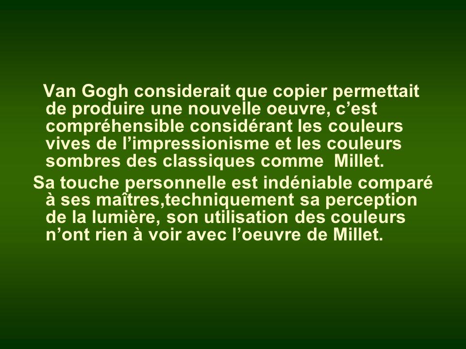 Le bucheron Van Gogh - 1889