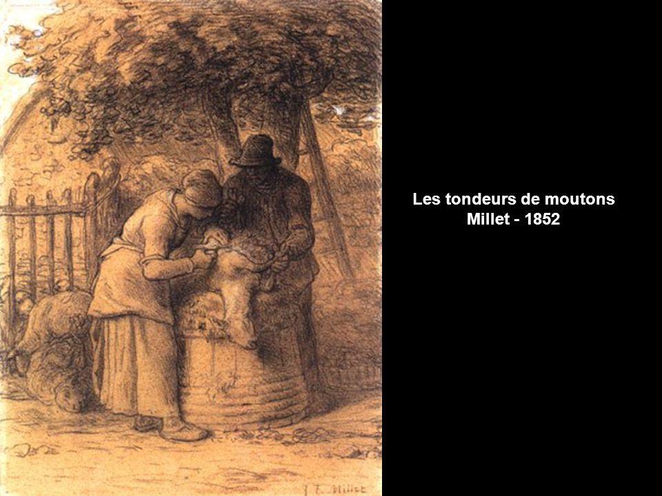 Van Gogh considerait que copier permettait de produire une nouvelle oeuvre, cest compréhensible considérant les couleurs vives de limpressionisme et les couleurs sombres des classiques comme Millet.