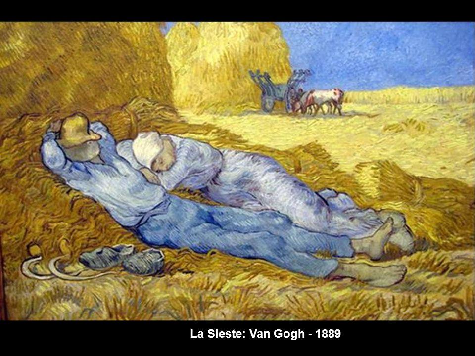 La Sieste: Millet - 1866
