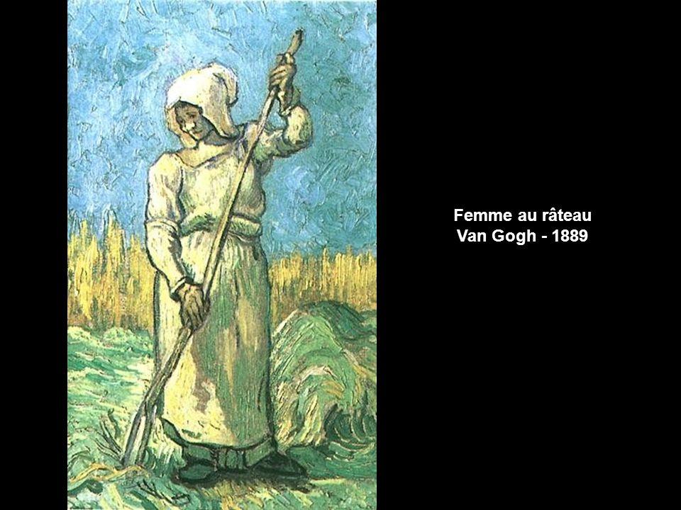 Femme au râteau Millet - 1854