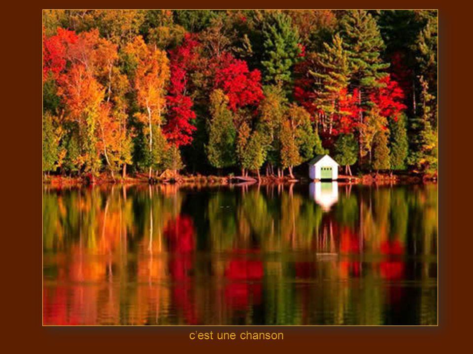 et la mer efface sur le sable_the autumn leaves