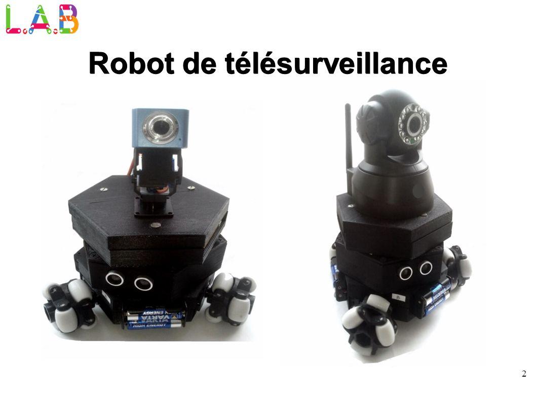 2 Robot de télésurveillance