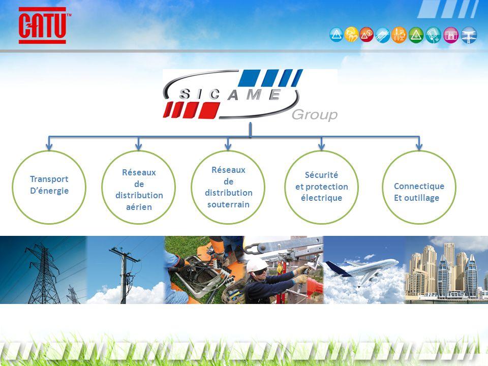 Transport Dénergie Réseaux de distribution aérien Sécurité et protection électrique Connectique Et outillage Réseaux de distribution souterrain