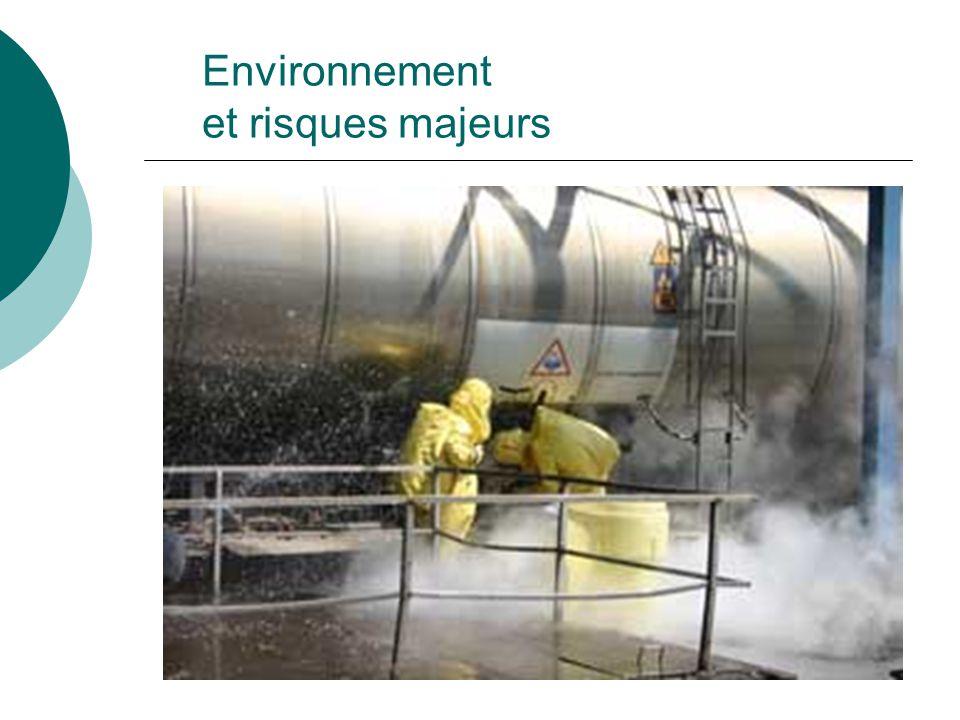 POSITIONNEMENT S ST >>> Habitant de zone à risques >> En entreprise à RM >> Témoin daccident majeur Environnement et risques majeurs