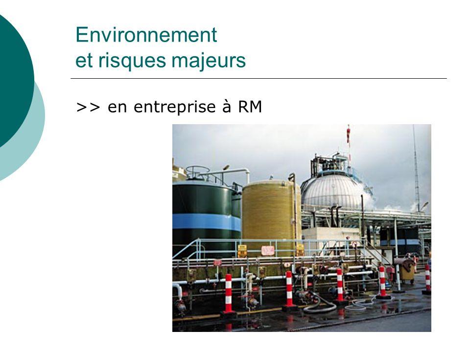 Environnement et risques majeurs DIRECTIVE SEVESO PROTOCOLE SPECIFIQUE PPI CONNAISSANCE DE MATERIELS ADAPTES / installation