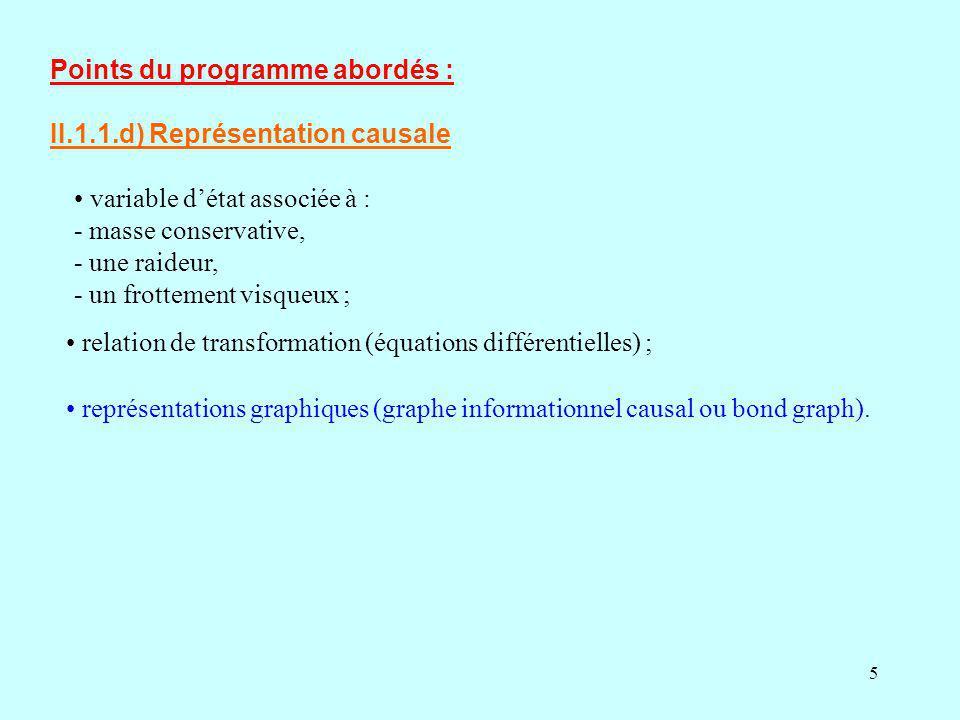 6 1) Notion réduite de causalité 2) Étude du processus 3) Étude de la commande 4) Conception du correcteur 5) Application 6) État dun système Variable détat 7) Approche par le graphe Informationnel causal