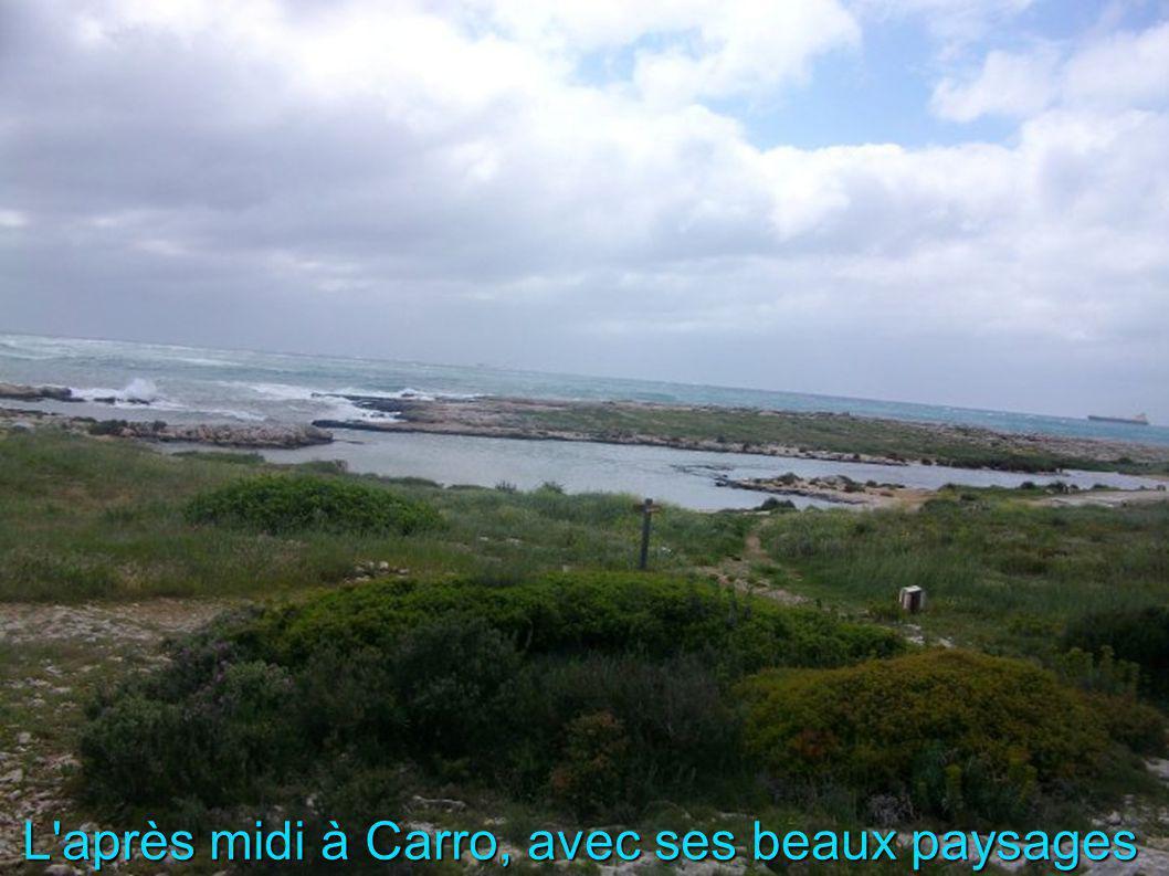 L après midi à Carro, avec ses beaux paysages