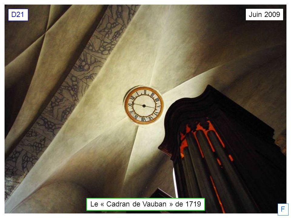 Juin 2009 D21 F Le « Cadran de Vauban » de 1719
