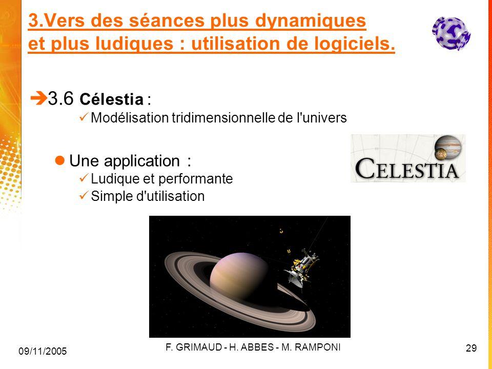 09/11/2005 F.GRIMAUD - H. ABBES - M.