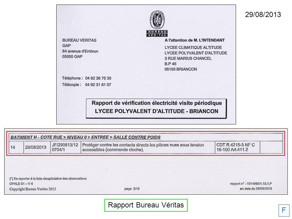 29/08/2013 Rapport Bureau Véritas F