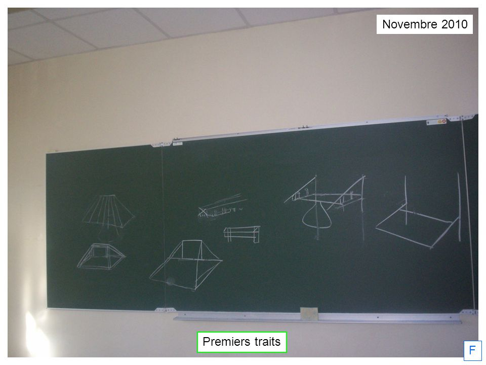F Novembre 2010 Premiers traits