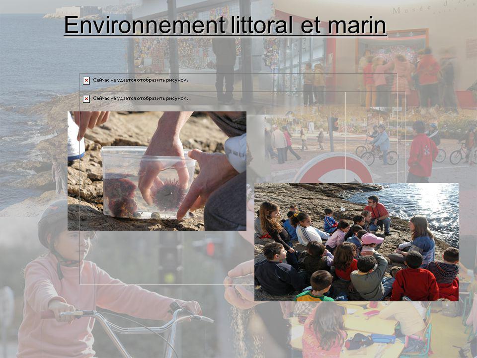 Environnement littoral et marin