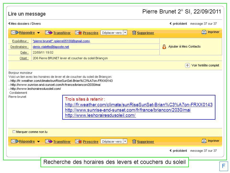 F Mathieu Drouot BTS2 étudie les deux Lumandars offerts par lEDSB. 16/01/2012